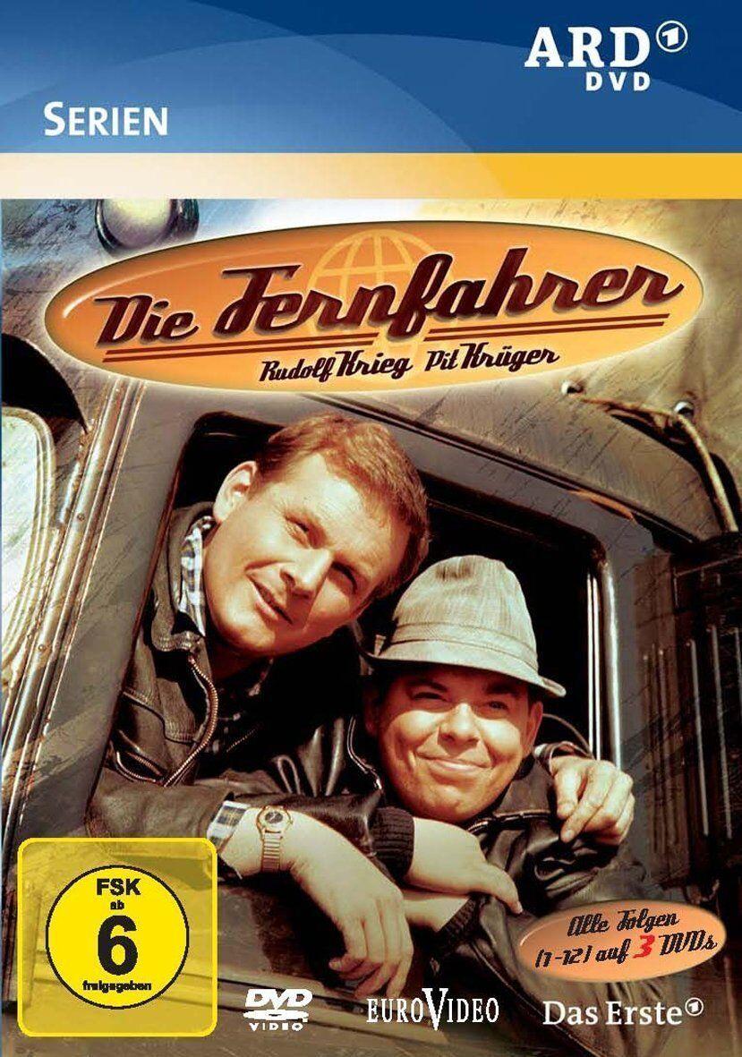 3 DVDs  * DIE FERNFAHRER - TV-SERIE KOMPLETT # NEU OVP %