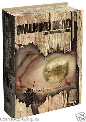 The Walking Dead Limited Comic Box Season 1&2 Blu-ray 5-Disc German Region B/2 ()