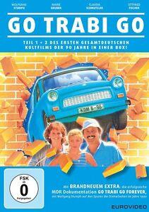 2 DVDs * GO TRABI GO  1 + 2  ~  STUMPH - KREBS - ZACHER # NEU OVP %