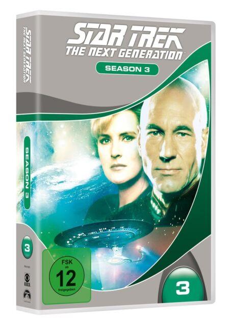 Star Trek The Next Generation Staffel 3 7er [DVD] NEU TNG Season