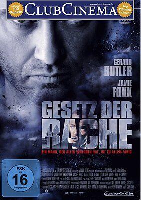 DVD *  GESETZ DER RACHE - Gerard Butler - Jamie Foxx  # NEU OVP +