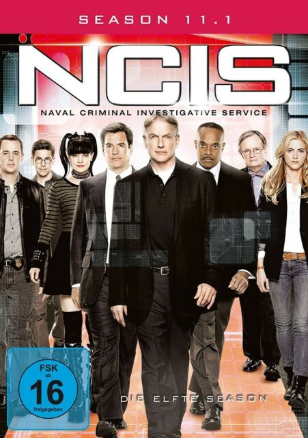 ROCKY/DIETZEN,BRIAN/HARMON,MARK CARROLL - NAVY CIS S11.1 MB  3 DVD NEU