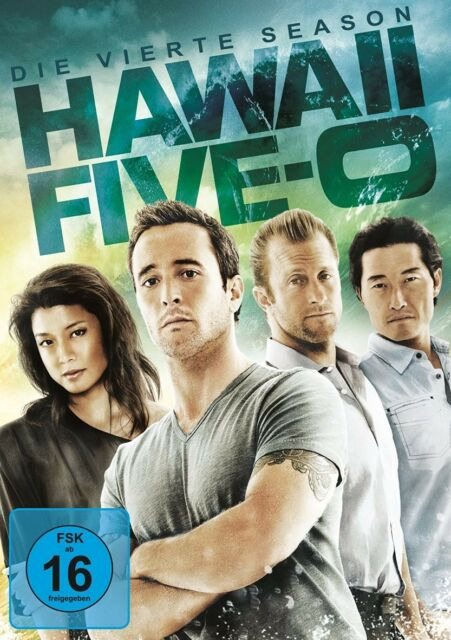 HAWAII FIVE-0-SEASON 4  6 DVD NEU  SCOTT CAAN/DANIEL DAE KIM/ALEX O'LOUGHLIN/+