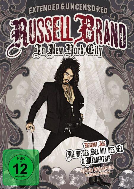 RUSSELL BRAND - RUSSELL BRAND IN NEW YORK CITY  DVD NEU