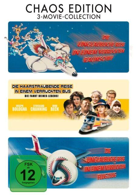 CHAOS EDITION (ROBERT HAYS, JULIE HAGERTY, LLOYD BRIDGES,..) 3 DVD NEU