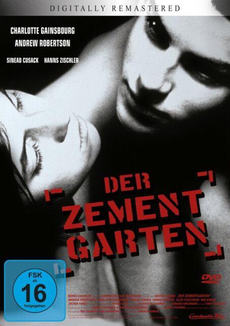 DER ZEMENTGARTEN The Cement Garden CHARLOTTE GAINSBOURG Andrew Robertson DVD Neu