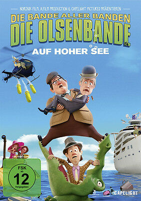DVD * DIE OLSENBANDE AUF HOHER SEE # NEU OVP