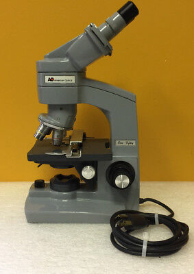 American Optical Ao One-fifty Binocular Microscope. Complete Accys Tested