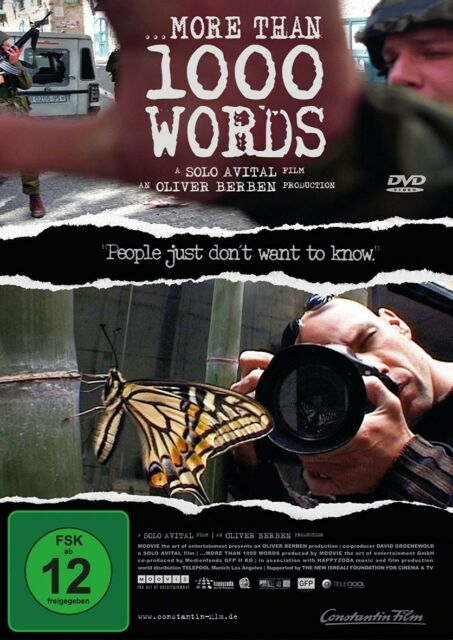MORE THAN 1000 WORDS - ZIV KOREN, DANNI REICHENTAL, OLIVER BERBEN -  DVD NEU