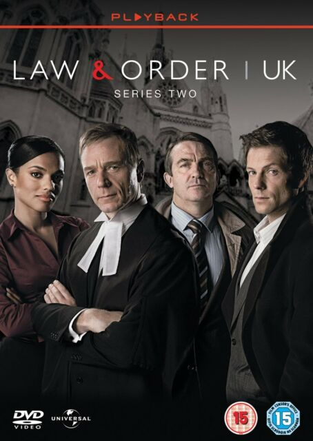 Law and Order UK Complete Series 2 - 2 Disc Set DVD Bradley Walsh New and Sealed