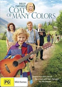 COAT OF MANY COLOURS (Dolly Parton)  DVD - Region 2 UK Compatible - New & sealed