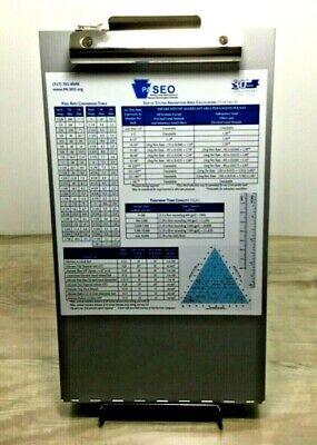 Aluminum Metal Clipboard Case Folder With Storage For Seo Enforcement