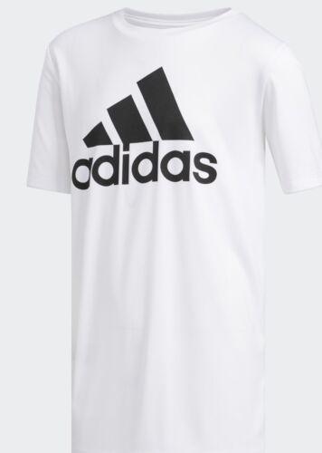 ADIDAS AEROREADY Short Sleeve  White T-Shirt FOR BOYS SIZE M