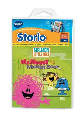 VTech Storio Animated Reading System Mr Men and Little Miss Software (NEW)