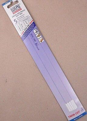 5x Säbelsägeblätter Wilpu 3016/280 BiMetal 280x19x0,9mm TwinCut Metal Holz+Nägel