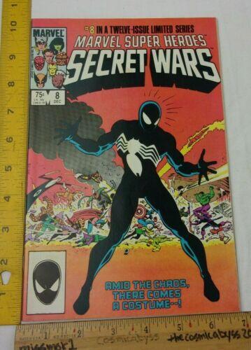 Marvel Super Heroes Secret Wars 8 comic book VF/NM 1984 Spider-Man HIGH GRADE!