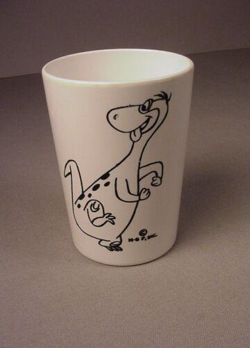 Vintage The Flintstones Dino plastic Cup Mug 1960