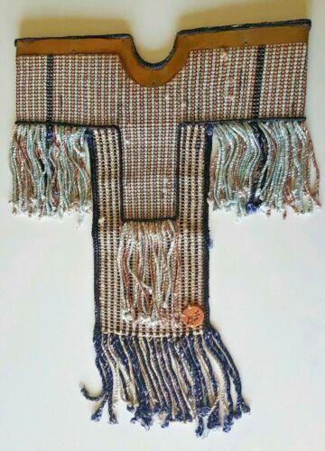 1989~Don Freedman~Hand Woven Textile Fiber Art Wall Hanging~Copper, Wood & Silk