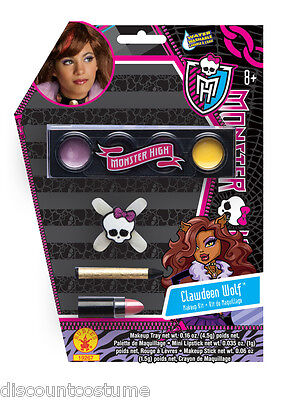 Monster High Clawdeen Make-up (CLAWDEEN WOLF MONSTER HIGH MAKEUP KIT HALLOWEEN MAKEUP)