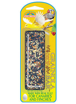 Bird Stick Food Treat Snack with Real Eggs for Canary & Finch - 71gr by Quiko