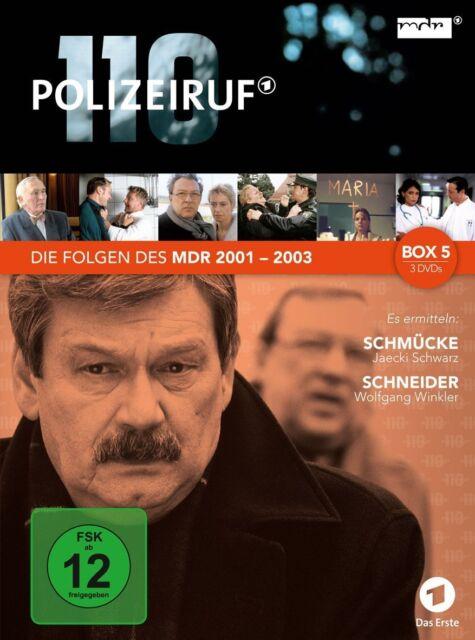 3 DVDs *  POLIZEIRUF 110 - MDR BOX 5  # NEU OVP %