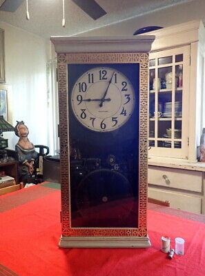 International Time Recording IBM Master School Clock 1944 Electric Program 685-5