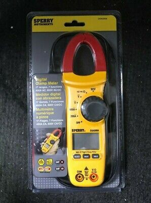 Sperry 400a 600v Cat Ii Iii Digital Clamp Meter Dsa500a Brand New