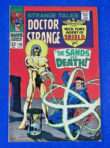 STRANGE TALES #158 COMIC BOOK 1st Full App Living Tribunal MARVEL 1967 ~ FN