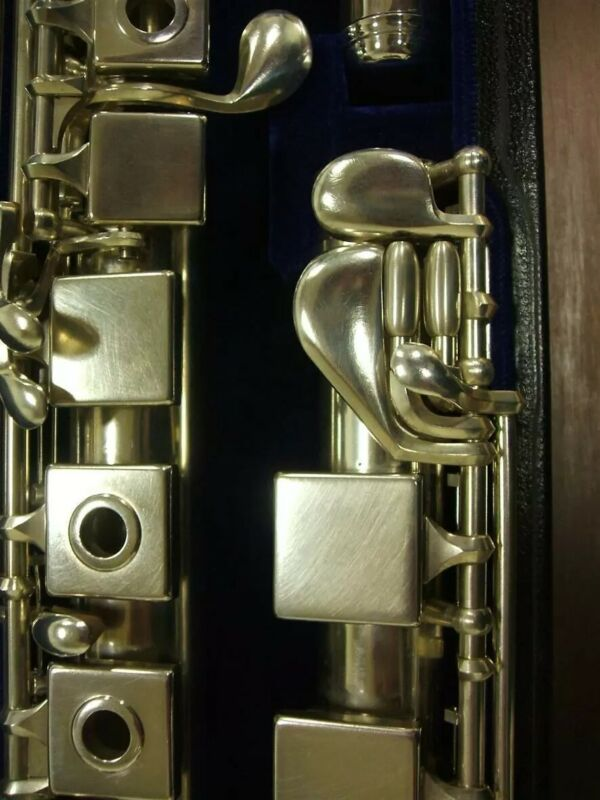 Brand New Lopatin SquareONE Pro flute. Best response ever! Sterling silver.