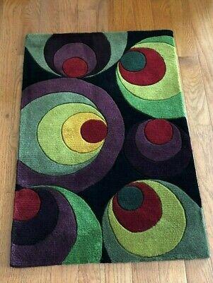 Momeni Wool Rug 2'x3' New Wave NW-36 Modern Abstract Design, Hand Tufted China - Momeni Abstract Rug
