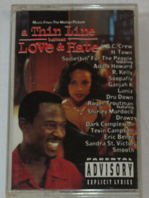 Thin Line Between Love and Hate [PA] by Original Soundtrack Cassette 1996