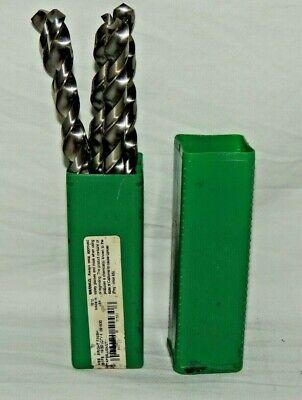 Set Of 5 Precision 1532 Hss 7 58 Taper Length 51530 1510 R51fs Drill Bit