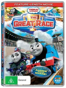 BRAND NEW Thomas & Friends - The Great Race (DVD, 2016) *PREORDER R4 Tank Engine