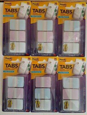 Post-it Tabs 1 X1.5 686-grdnt 36 Ct X 6 Packages 216 Tabs Total