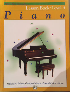 Alfred's basic piano library - lesson book level 3 Woollahra Eastern Suburbs Preview