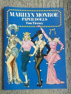 Marilyn Monroe Paper Dolls Tom Tierney 1979
