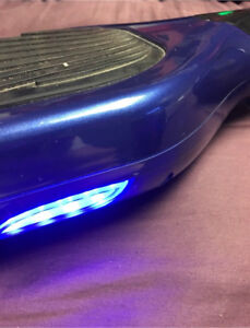 Blue Bluetooth Hoverboard