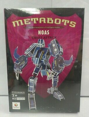 NEW Metabots Noas - Swift Attack 3D Puzzle Building Toy by Enjoymobil