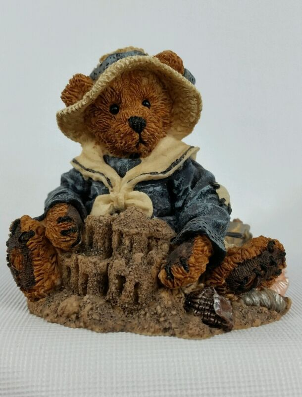 Boyds Bears Wilson At The Beach #2020-06 Figurine Collectible Vintage