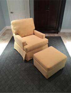 Brand New Gliding Chair and Ottoman w Free Delivery