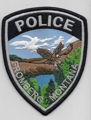 Fromberg Police State Montana MT Scenic
