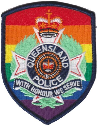 QUEENSLAND (AUSTRALIA) Police patch (LGBT PRIDE EDITION)