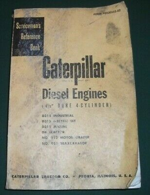 Caterpillar 955 112 D4 Tractor 4 12 4 Cylinder Engine Service Repair Manual