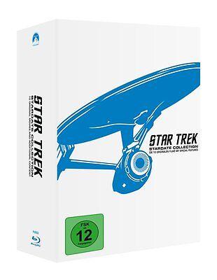 12 Blu-rays * STAR TREK - STARDATE COLLECTION - DIE 10 KINOFILME # NEU OVP +