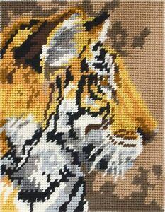 Anchor Starters - Tapestry Kit - Tiger -  18 x 14 cm - MR943