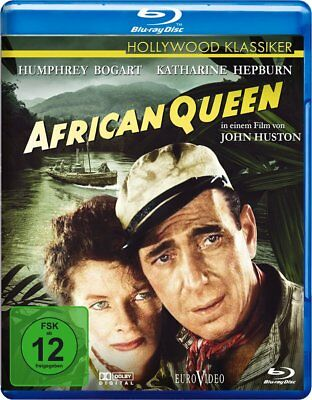 Humphrey Bogart African Queen (African Queen [Blu-ray/NEU/OVP] Humphrey Bogart, Katherine Hepburn / John Huston)