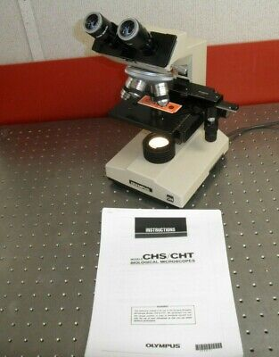 Olympus Ch2 Chs Cht Clinical Microscope Manual