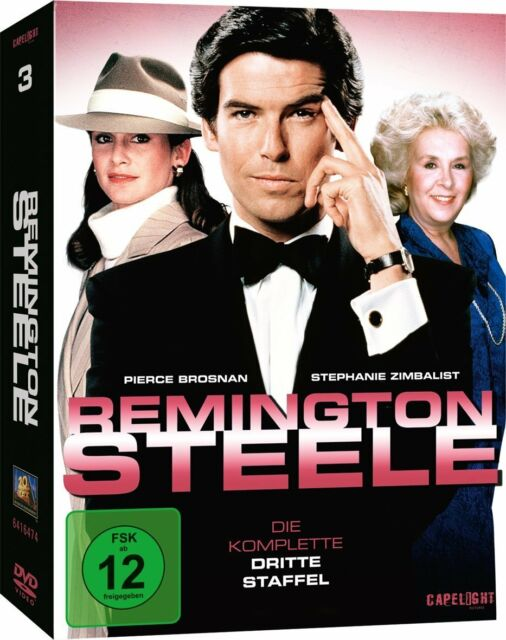 Remington Steele - Die komplette Staffel / Season 3, 7 DVD NEU + OVP!