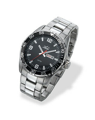 Adi Mans Watch  Tactical Elegant  Water Resistance 10Atm  Stainless  Dive Able