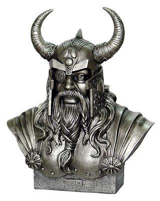 Büste Odin  Statue Wikinger Figur Odin Wikingerfigur